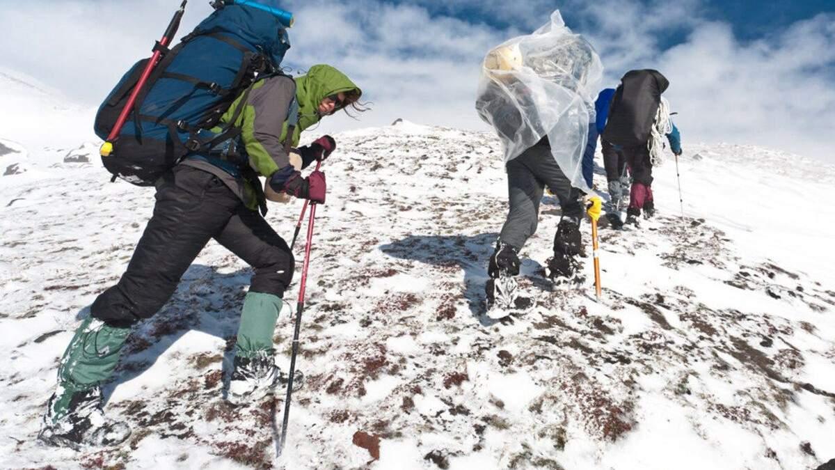 Потрібно бути готовим до будь-якої погоди в горах
