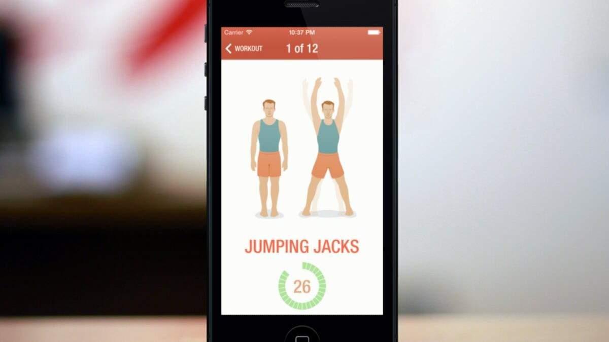 7 хвилин спорту на день: розробили додаток, що допоможе регулярно тренуватися