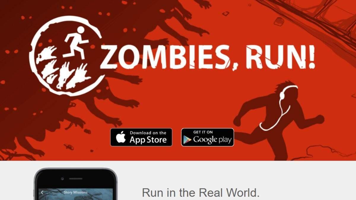 Тікай від зомбі: розробили додаток, що перетворює біг на цікаву гру