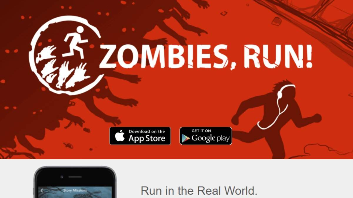 Беги от зомби: разработали приложение, которое превращает бег в интересную игру