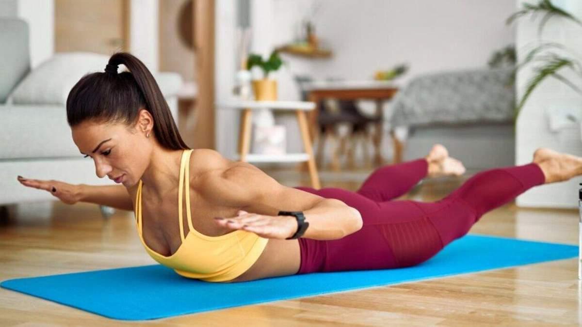 Вправи для здорової спини