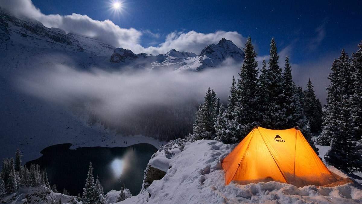 Зимовий похід у гори
