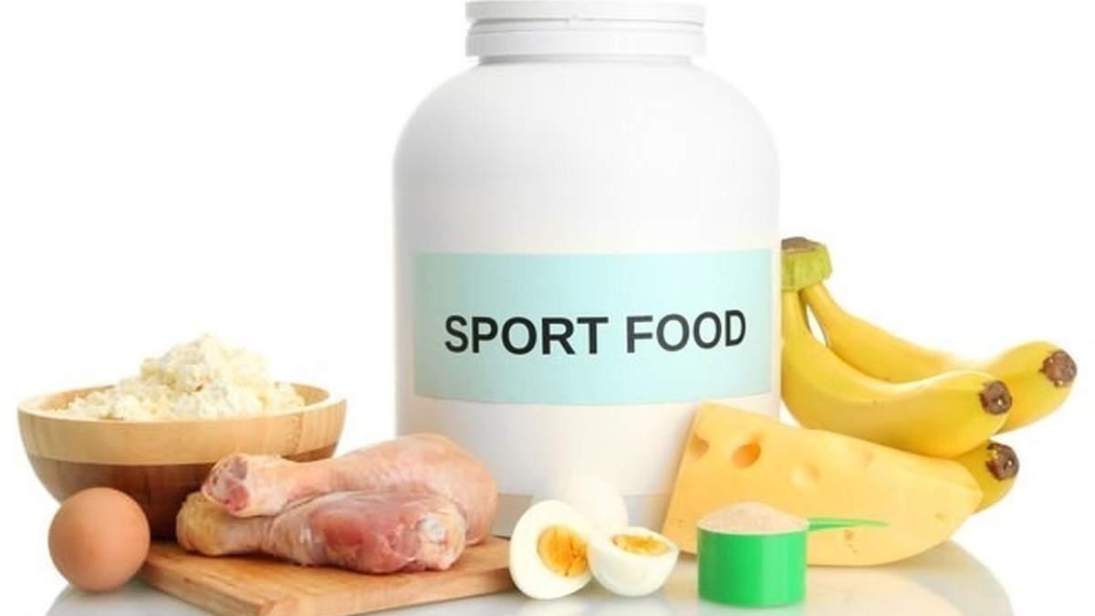 3 міфи про спортивне харчування