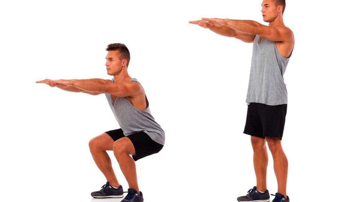 Тренировка для мышц ног