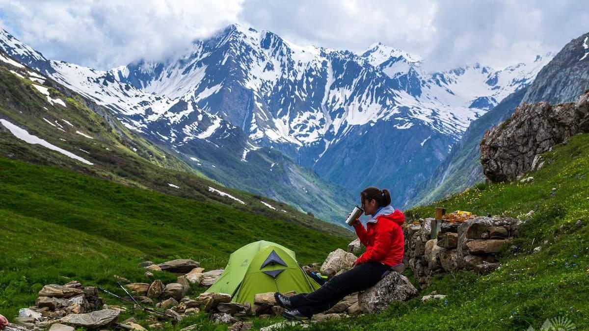 Похід в гори для новачків