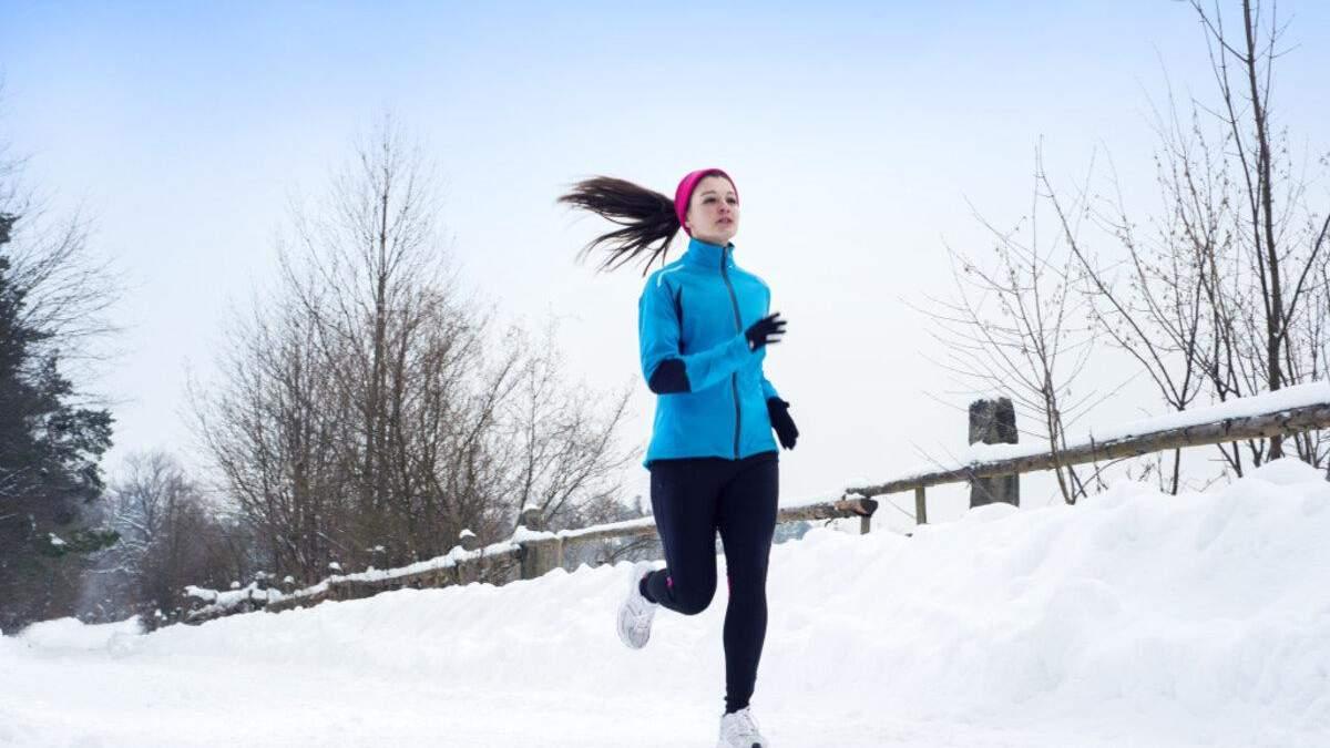 Чим замінити біг у зимовий період