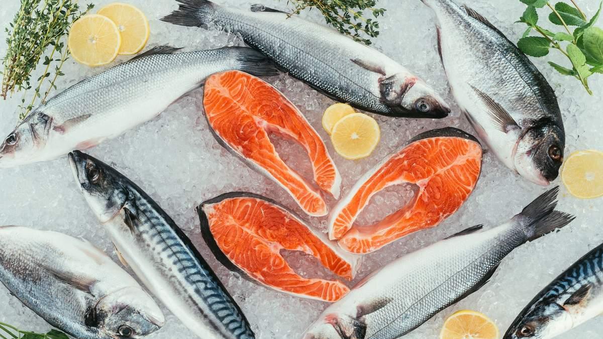Омега-3 міститься в рибі і морепродуктах
