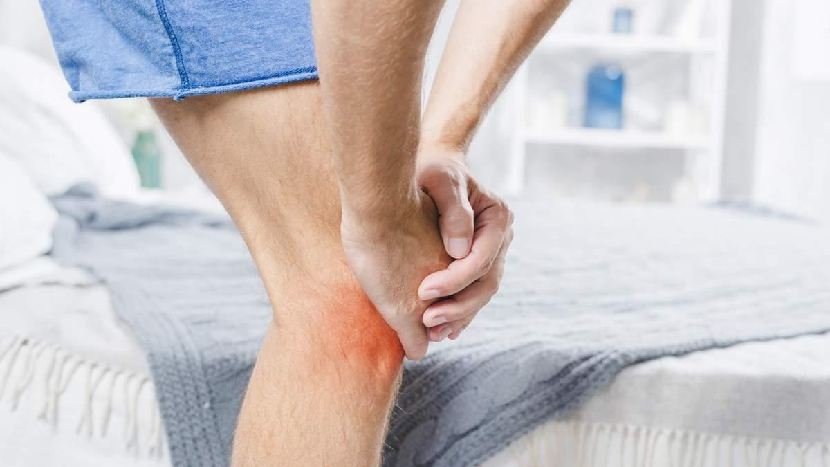 Біль в коліні: чому з'являється під час тренувань