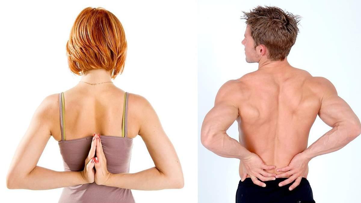 5 вправ для красивої постави та здорової спини: відео