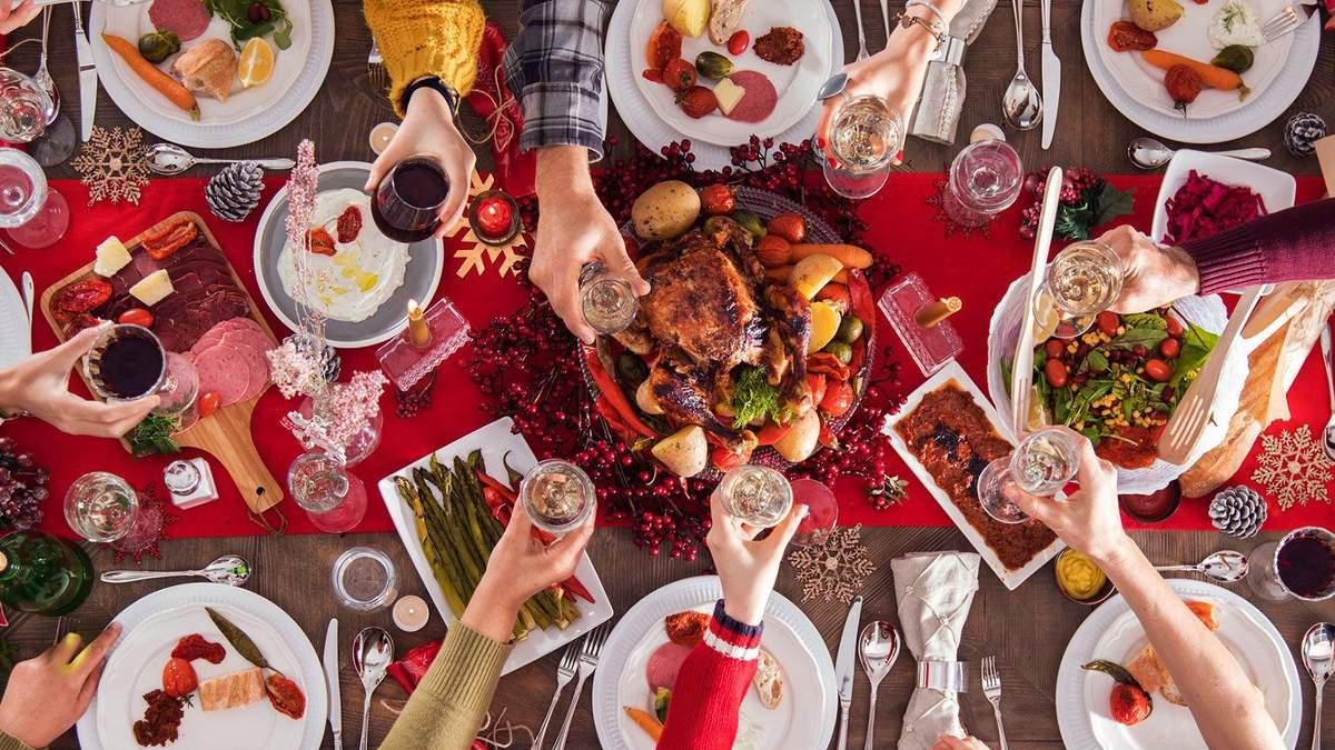 Переїдання на Новий рік: несподівана користь від надмірної їжі