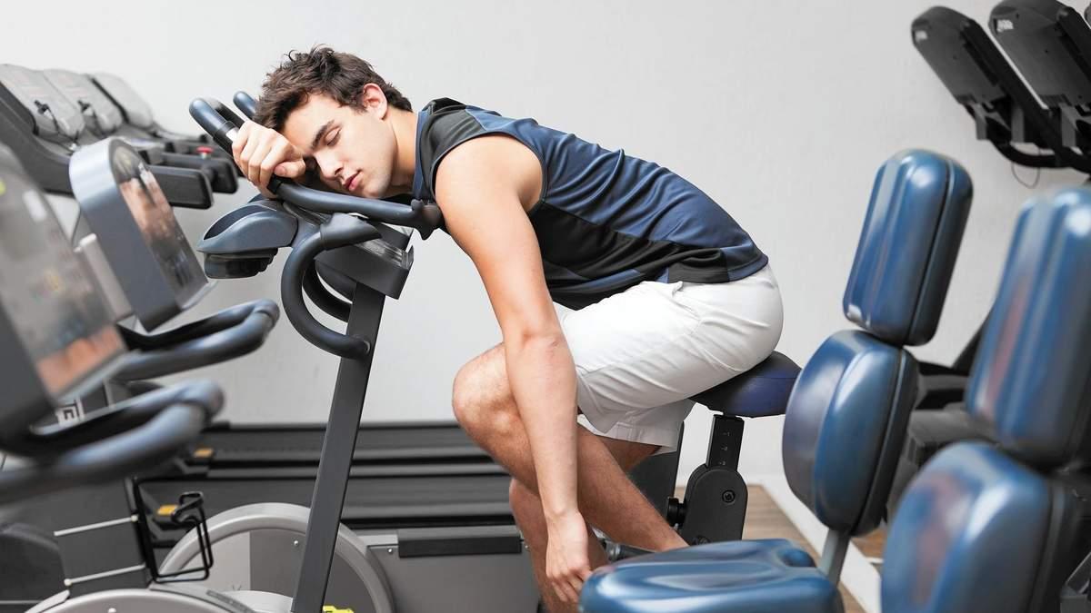 Слабкість на тренуванні: названо 6 можливих причин