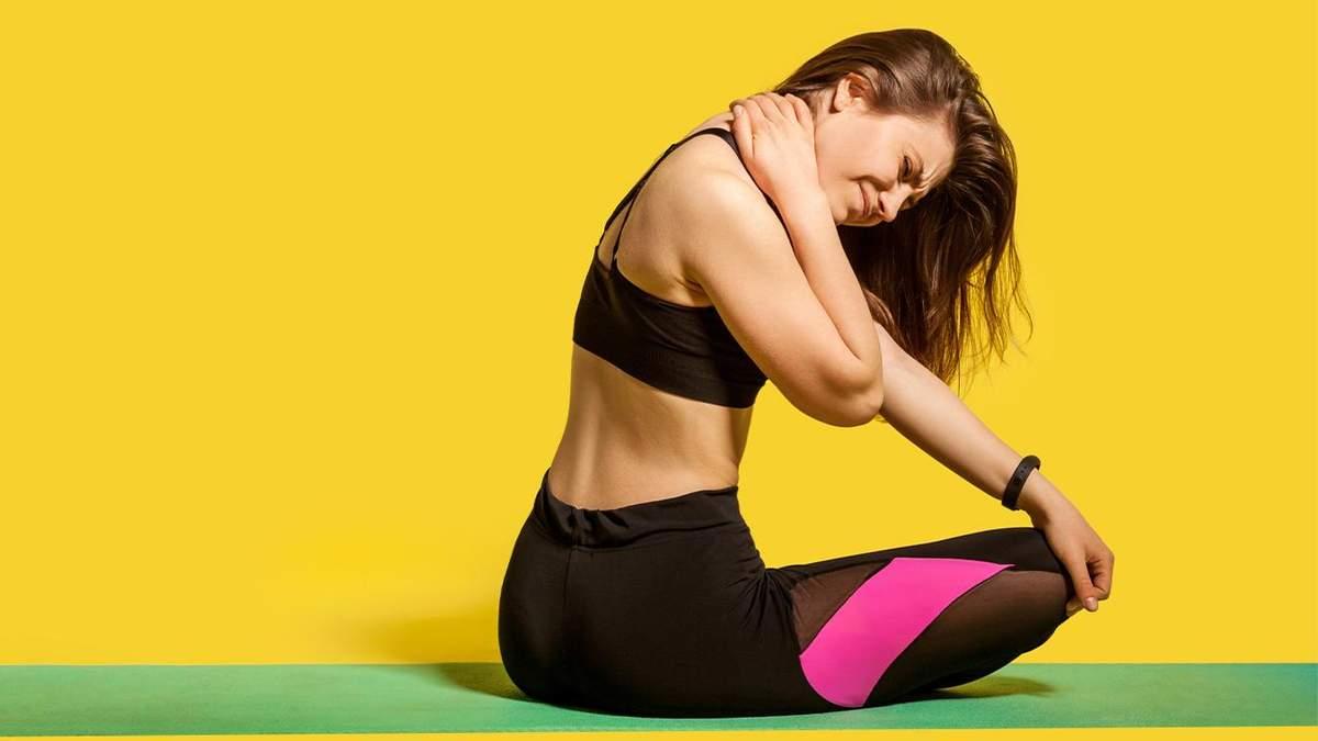 Біль у шиї: як його подолати за допомогою йоги – прості вправи