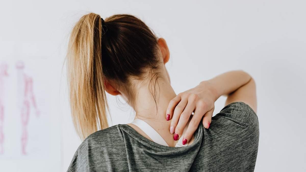 Как избавиться от боли в шее: упражнение для профилактики сутулости