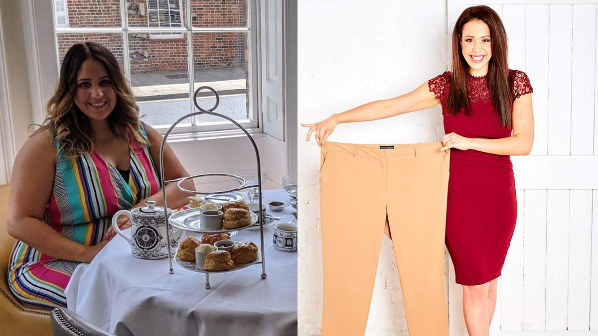 Британка похудела на 46 килограммов за 15 месяцев