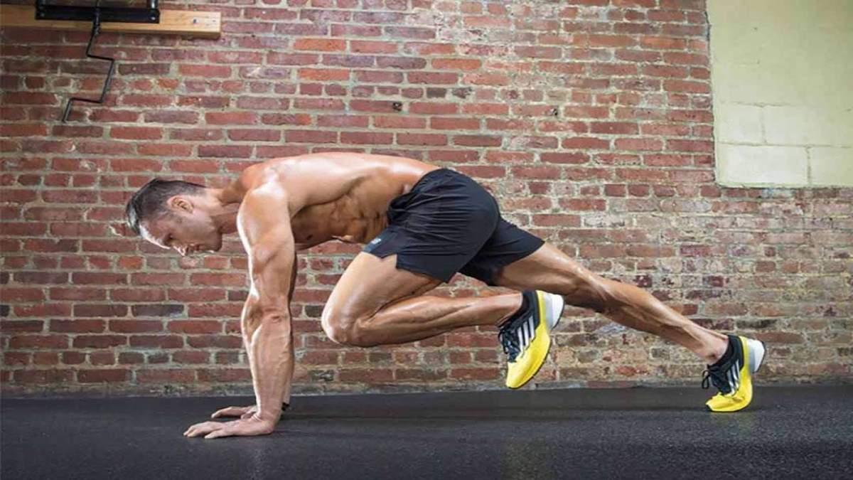 Упражнение Скалолаз: что это такое и как его выполнять