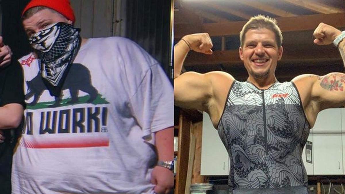 Хлопець скинув 70 кілограмів
