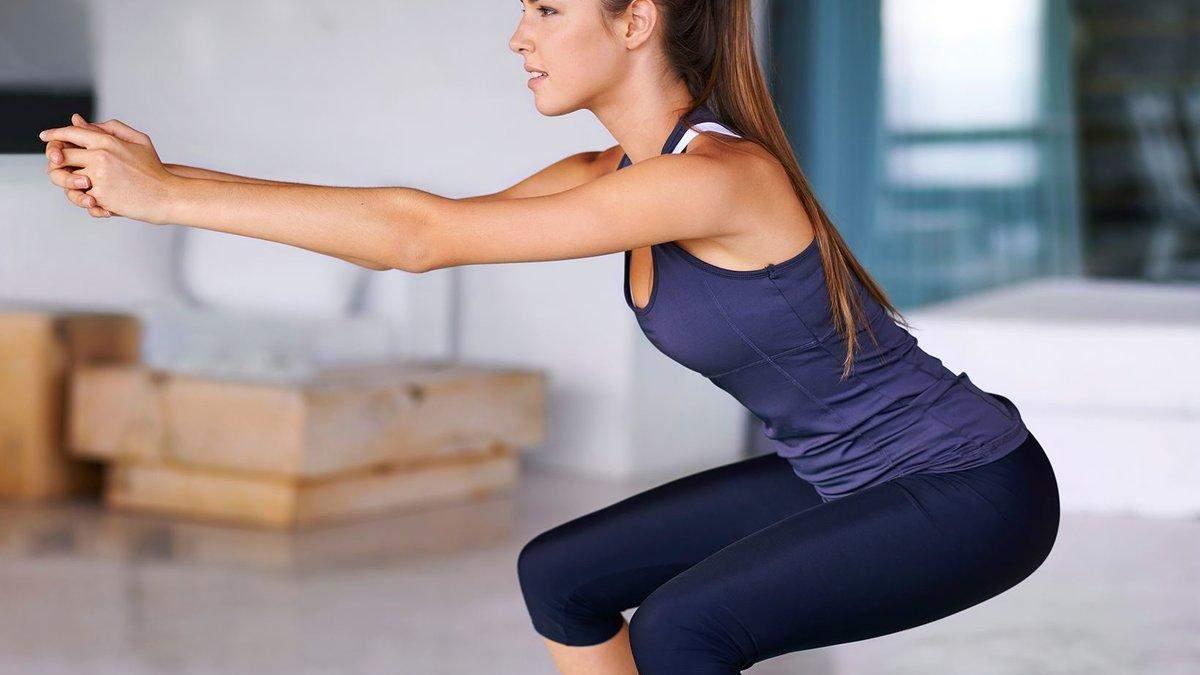 Приседания: кому не нужно делать это упражнение - интересные факты и видео