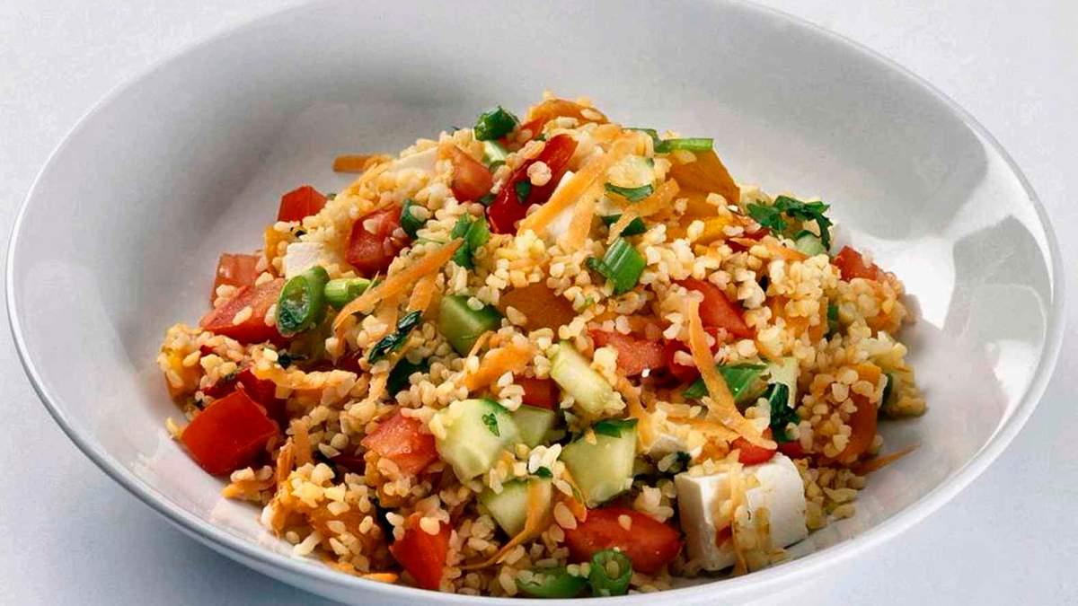 Что есть в пост и при похудении: рецепт ризотто с булгуром и овощами