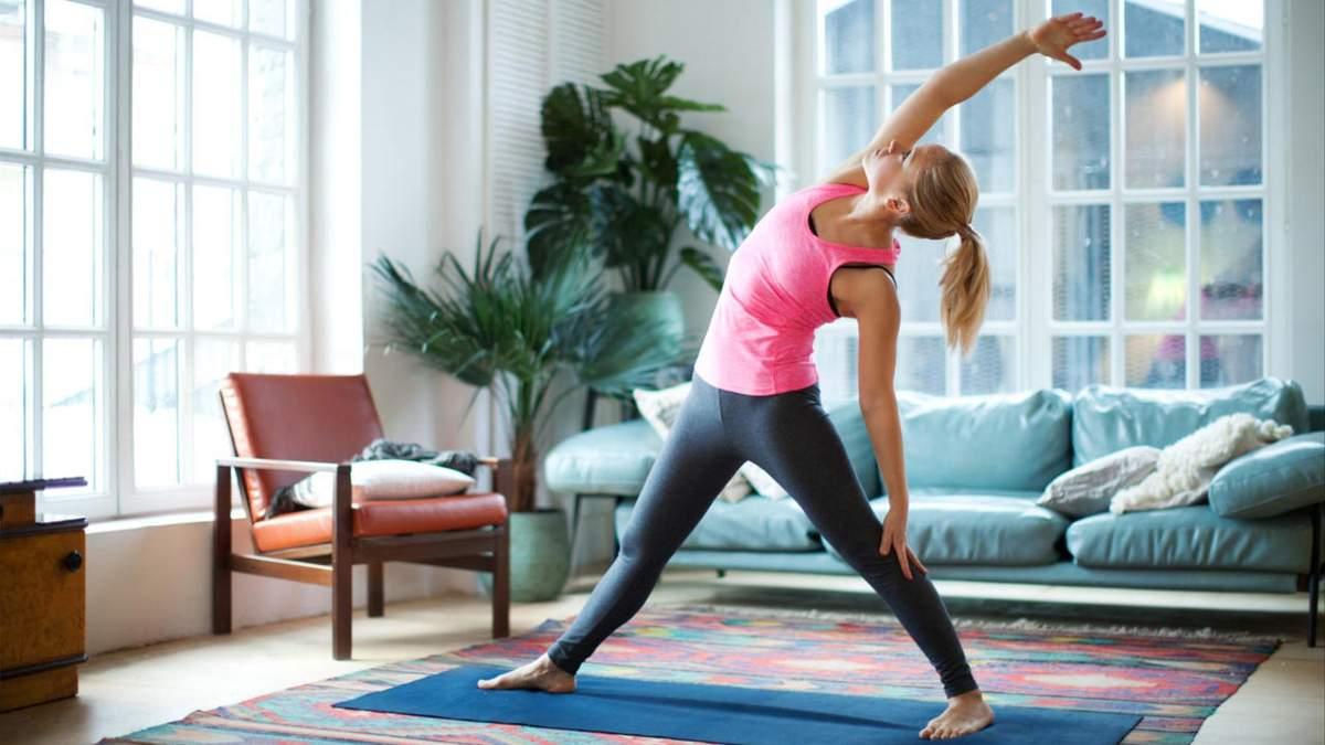 Як тренуватися вдома без інвентарю: вправи на все тіло