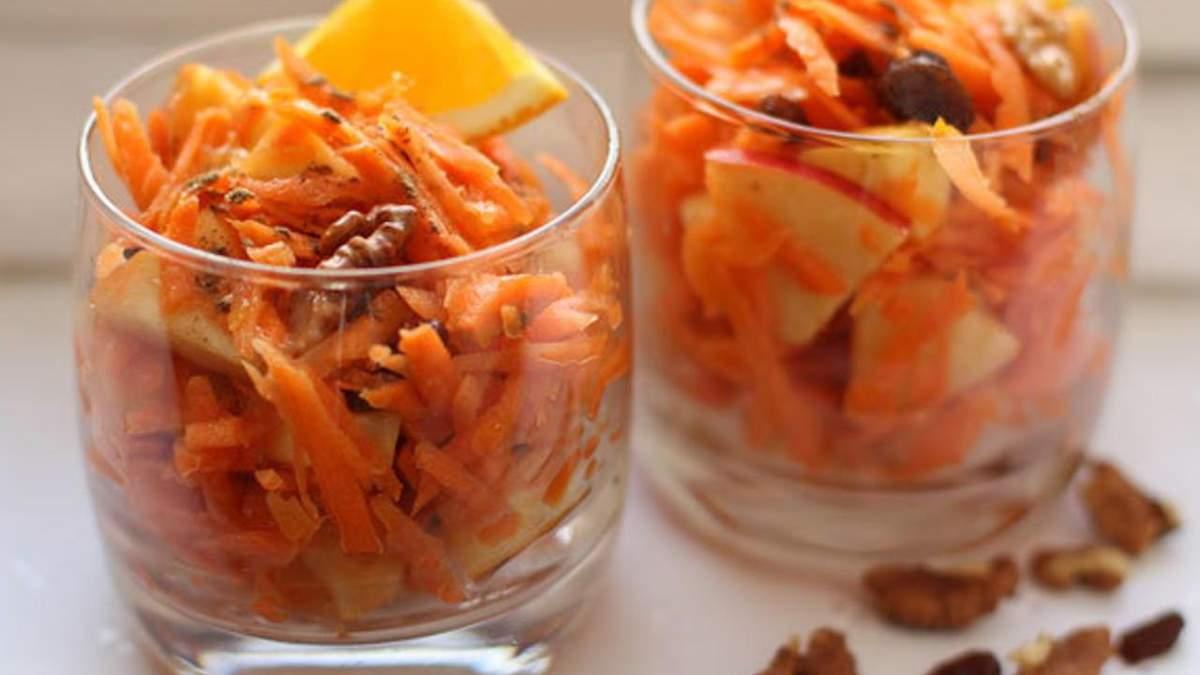 Незвичайний салат з горіхами та вишнею для тих, хто дотримується посту: рецепт