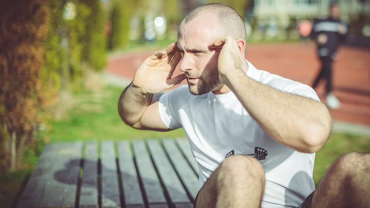 Пресс будет гореть: ежедневный сет из 6 эффективных упражнений – видео