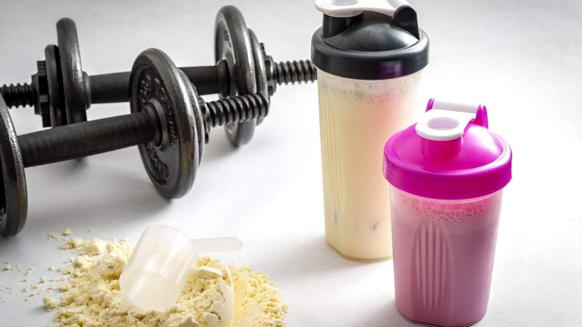 Як правильно пити протеїн для ефективнішого набору м'язової маси