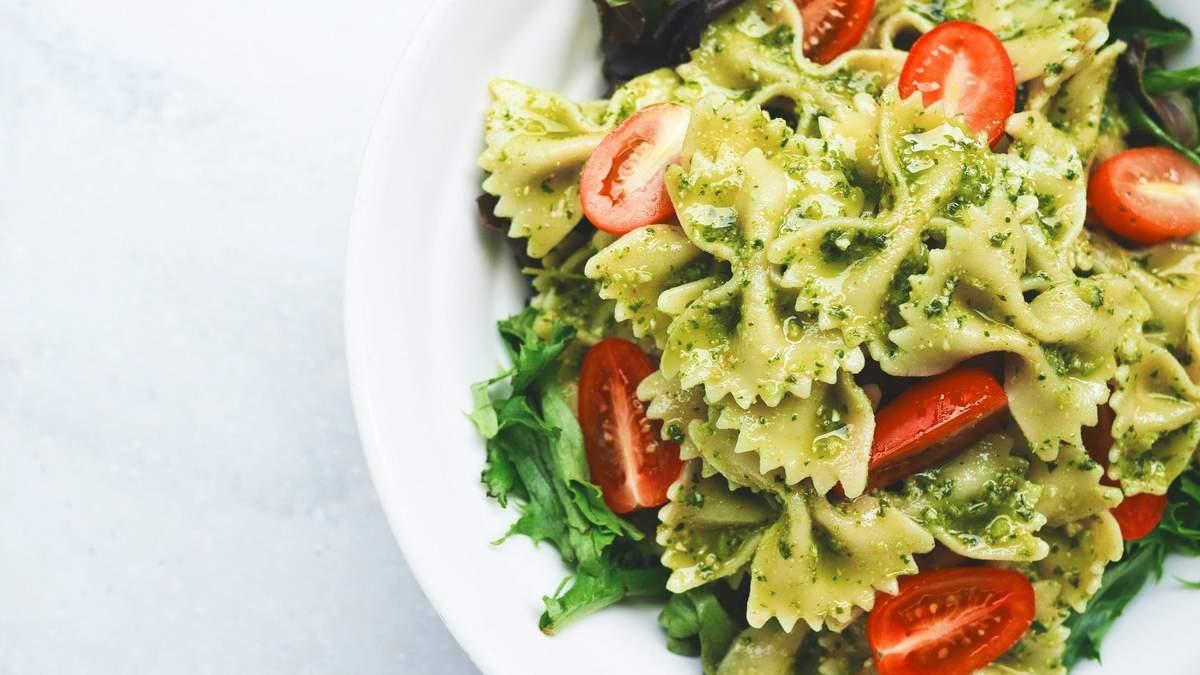 Рецепт спагетти с песто и пармезаном: как приготовить диетический ужин
