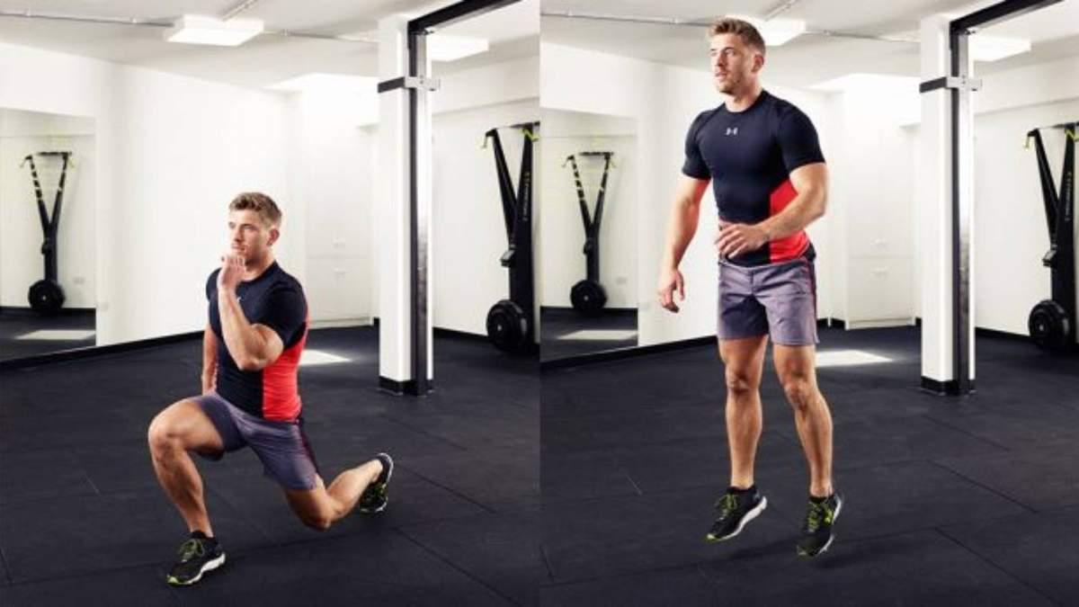 Выпады в прыжке: за чем важно следить при выполнении этого упражнения