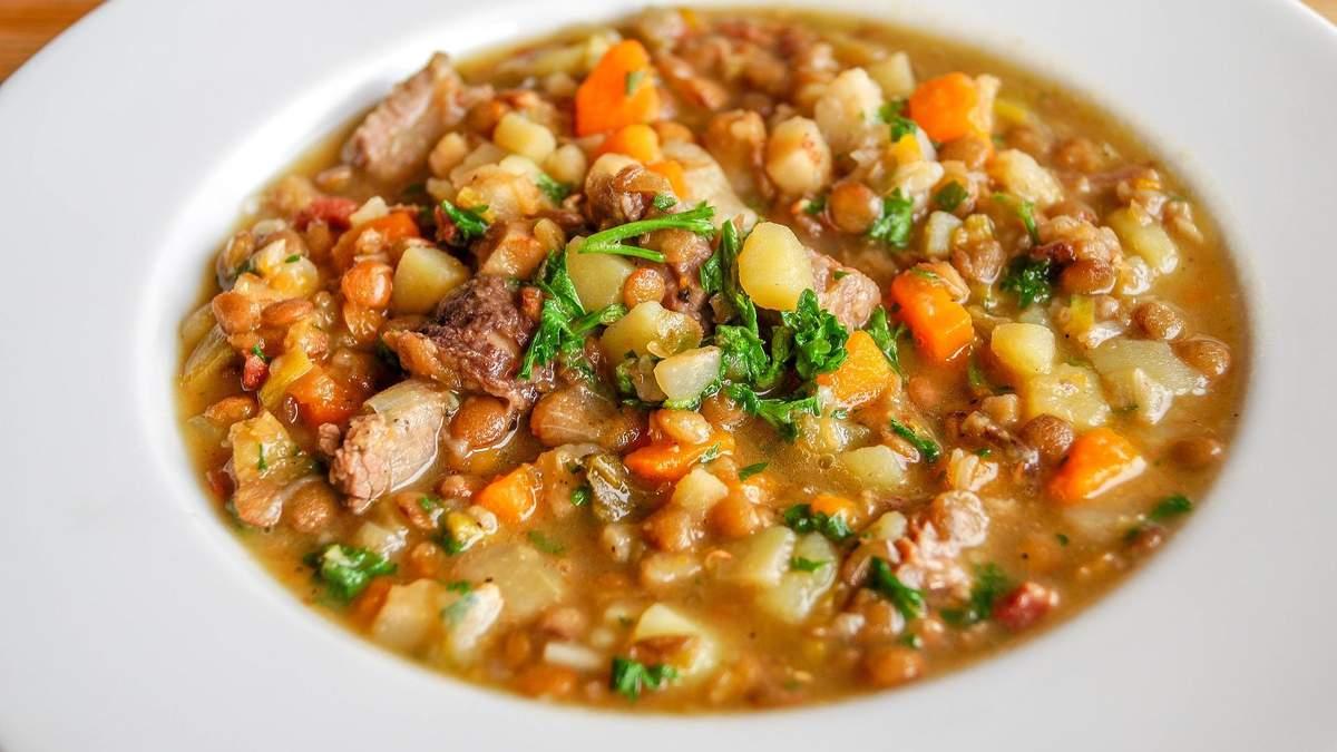 Як приготувати суп із сочевицею: Аніта Луценко назвала улюблений рецепт
