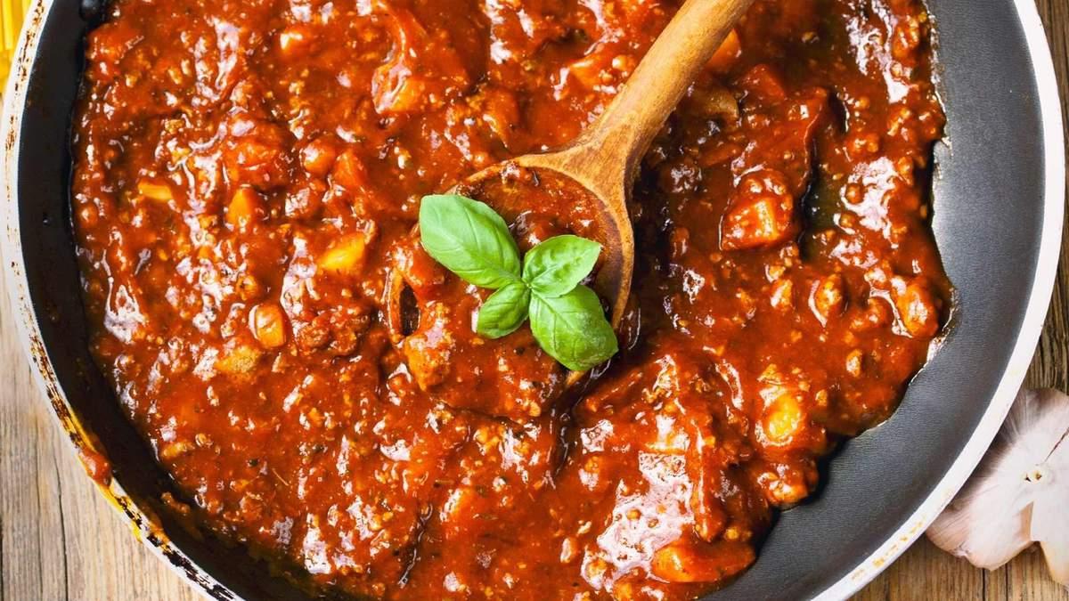 Индейка болоньезе: диетический рецепт мясного соуса для гарнира