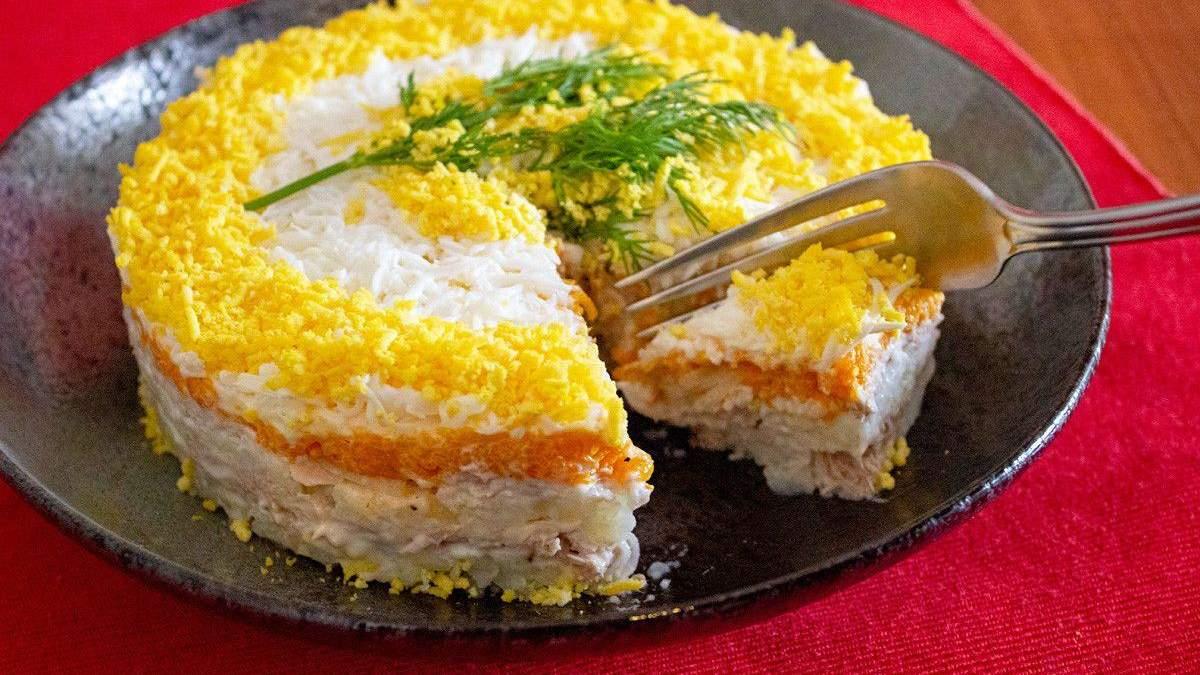 Как приготовить диетический салат мимоза: пошаговый рецепт