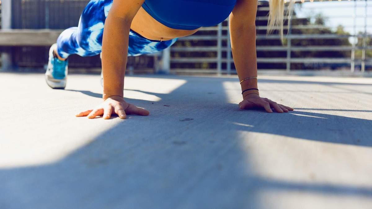 Як навчитися віджиматися правильно та що важливо при виконанні вправи