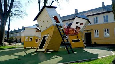 Здійснення мрії: фото найкрутіших дитячих  майданчиків світу