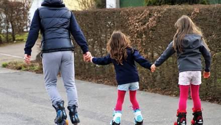 Як навчити дитину кататися на роликах: корисні поради