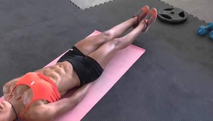Змусить вас страждати: потужне тренування для струнких ніг