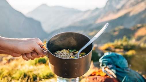 Їжа для походу: що дозволено брати з собою в гори