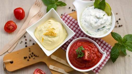 Чем заменить майонез: 5 вкусных и полезных соусов для тех, кто худеет