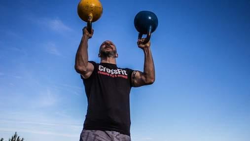 Спортивный вызов: попробуйте выполнить упражнения кроссфит-комплекса за минимальное время