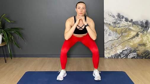 6 эффективных упражнений для ног в домашних условиях: видео тренировки