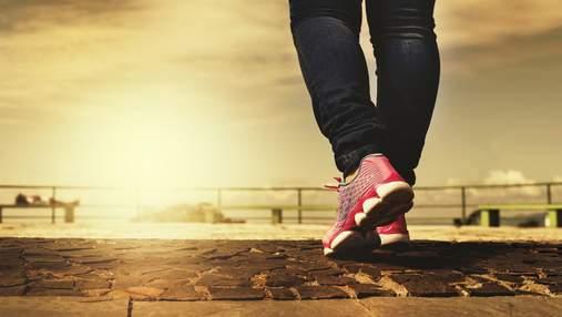 Чому щодня потрібно проходити 10 тисяч кроків: цікаві факти
