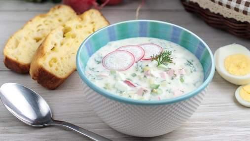 Як приготувати окрошку на кефірі та квасі: 2 рецепти холодного супу