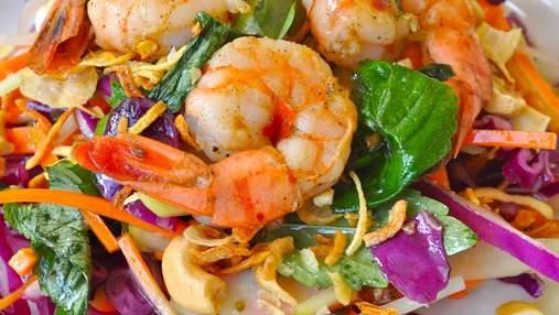 Неймовірний салат з креветками: що потрібно та як приготувати