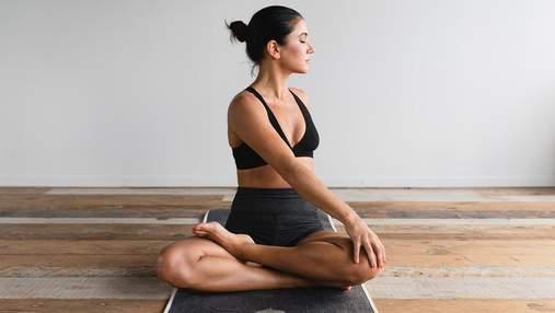 4 щоденні вправи для покращення постави