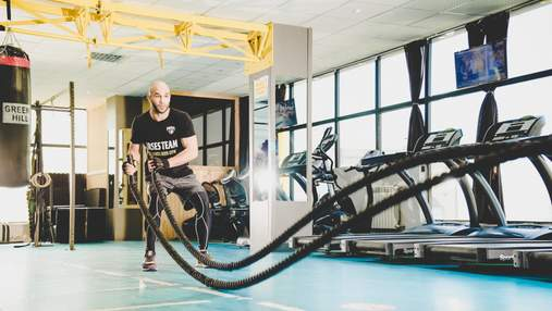 Как тренироваться с канатом: видео упражнений на все группы мышц