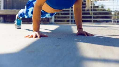 Як навчитися віджиматися та що важливо при виконанні вправи: поради для новачків